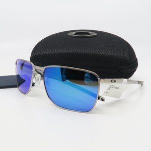 OO4142-0458 Oakley Satin Chrome EJECTOR Sunglasses